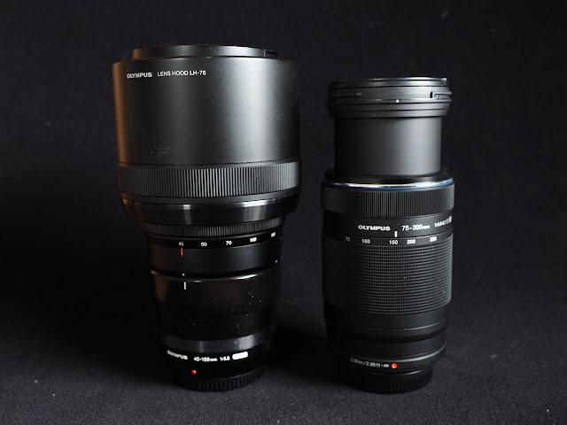 Olympus 40-150 Pro und 75-300