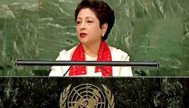 Resolution of Palestinian issue essential for global peace Maleeha Lodhi