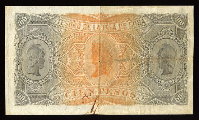Cuba Currency 100 Pesos