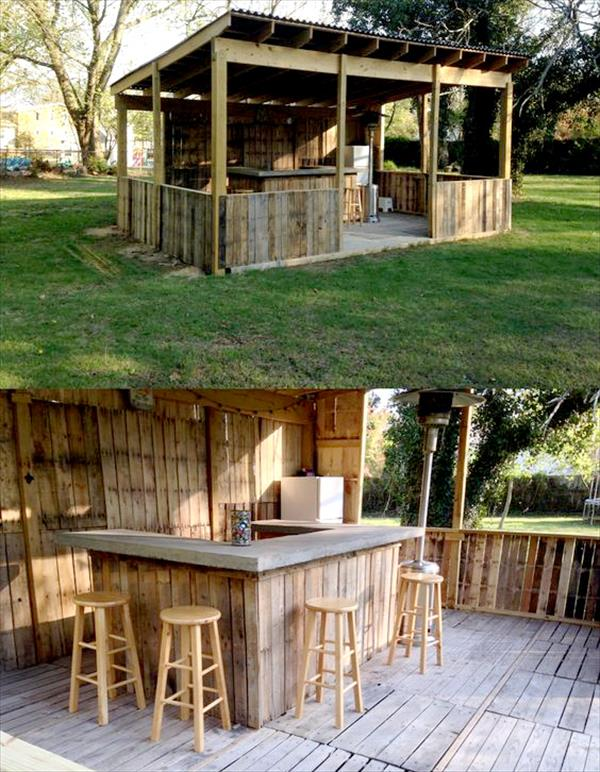Thousands of Recycled Pallet Furniture Ideas - Pallet ...