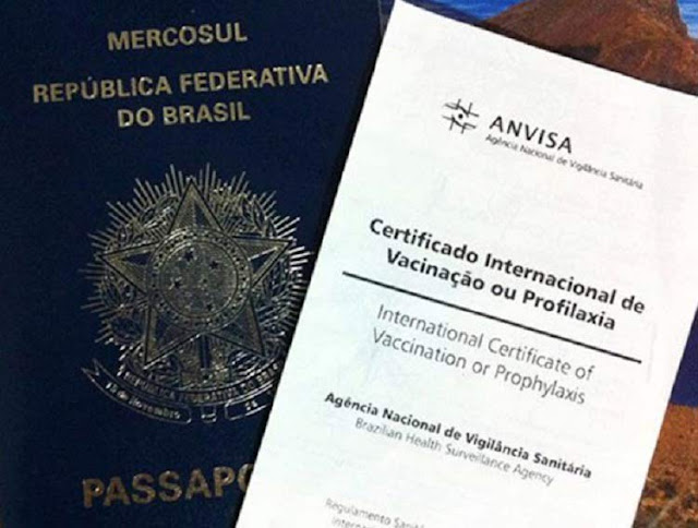Certificado de Vacinação para entrar em Roma