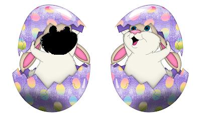 Moldura Páscoa 2016-1 foto-H-Bunny Face PNG