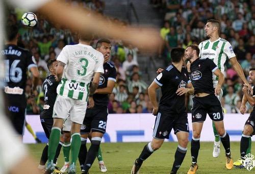 """فضال يقود ريال بيتيس لأول انتصار في """"الليغا"""" على حساب سيلتا فيغو"""