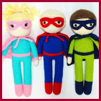 Superhéroes a crochet