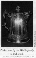 Image of silver pitcher, original photo by Shellie Kendall Nunn,