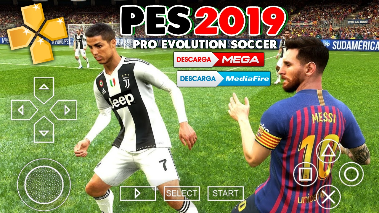 ✨ Download game ppsspp 2019 android | PES 2019 PPSSPP ISO File