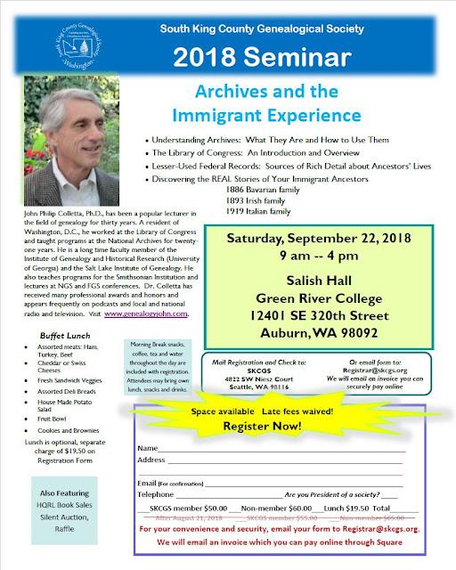 http://skcgs.org/2018-seminar.html