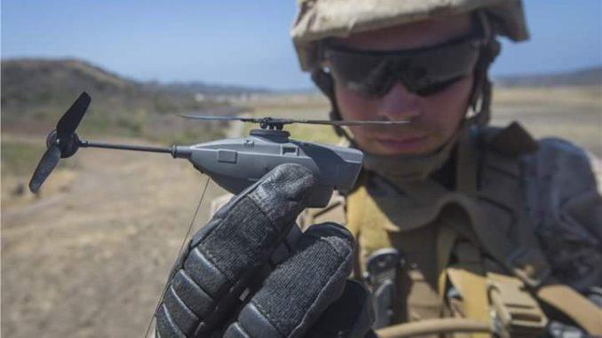 Angkatan Darat AS Borong Drone Black Hornet PRS dari FLIR