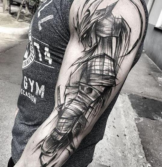 samurai Tattoos For Men
