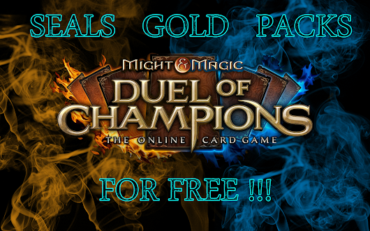 Duel of Champions free card codes generator | Seals , Gold , Packs