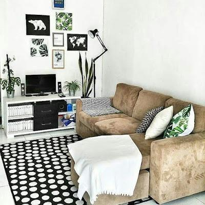 interior dan dekorasi ruang tamu yang sangat indah
