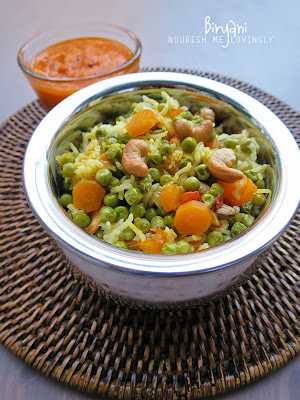 green_pea_biryani_in_handi