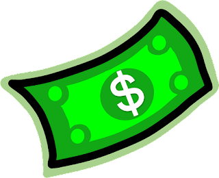 Dollar Bill Clipart, Money Clipart