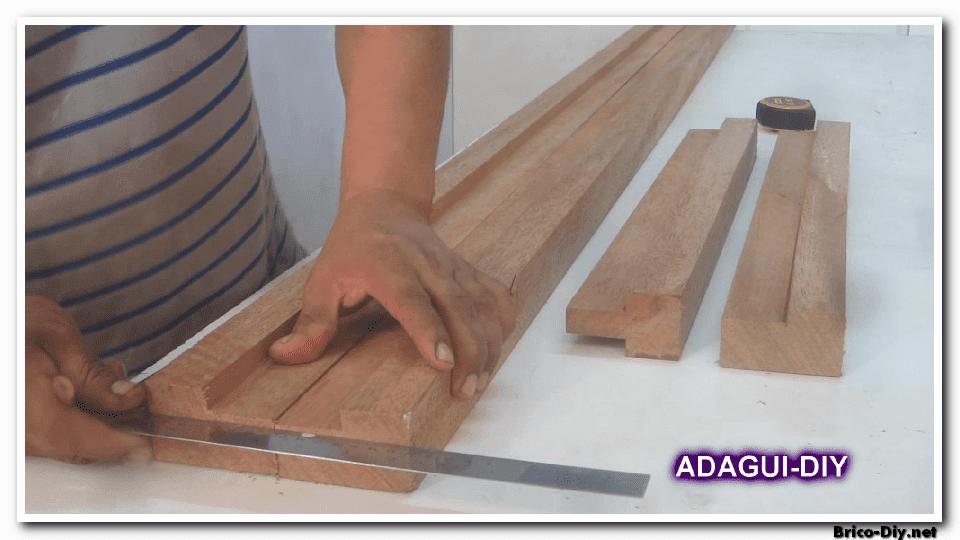 Como hacer marco de madera para puertas contraplacadas for Como se hace una puerta de tambor