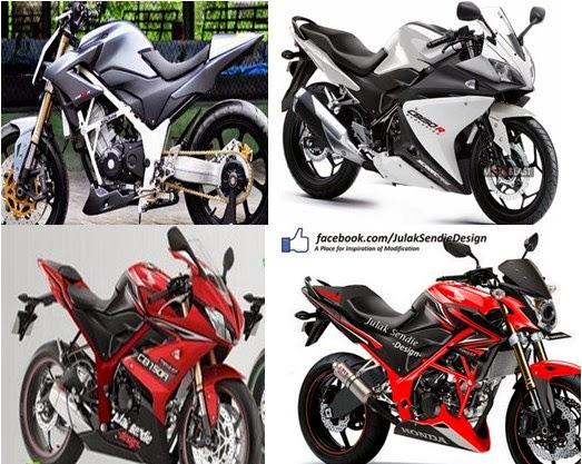 Gambar dan Aksesoris Modifikasi Honda CB 150 R