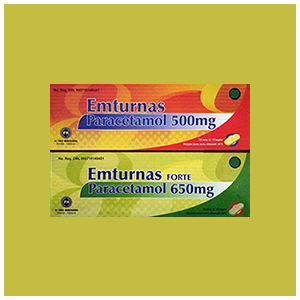 Emturnas : Paracetamol Kaplet, Syrup