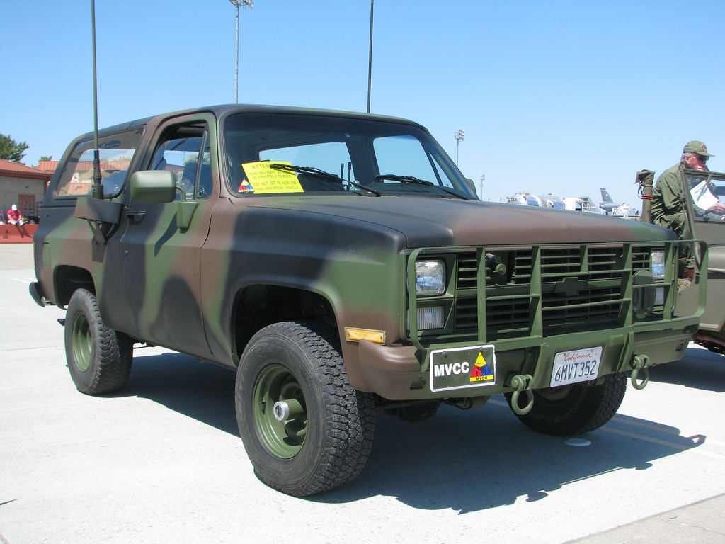 cucv blazer ..... how could you go wrong with a 4x4 military ...