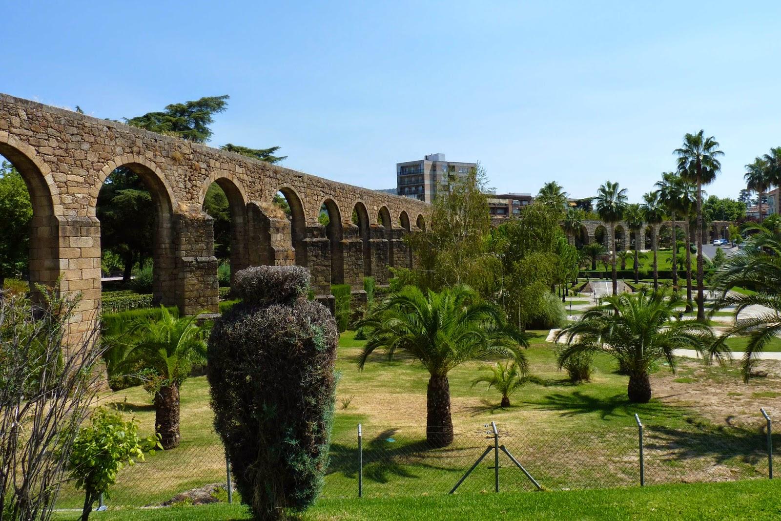 Acueducto de San Antón, Plasencia.
