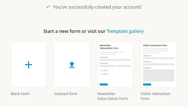 Pilih Visitor Interaction Form