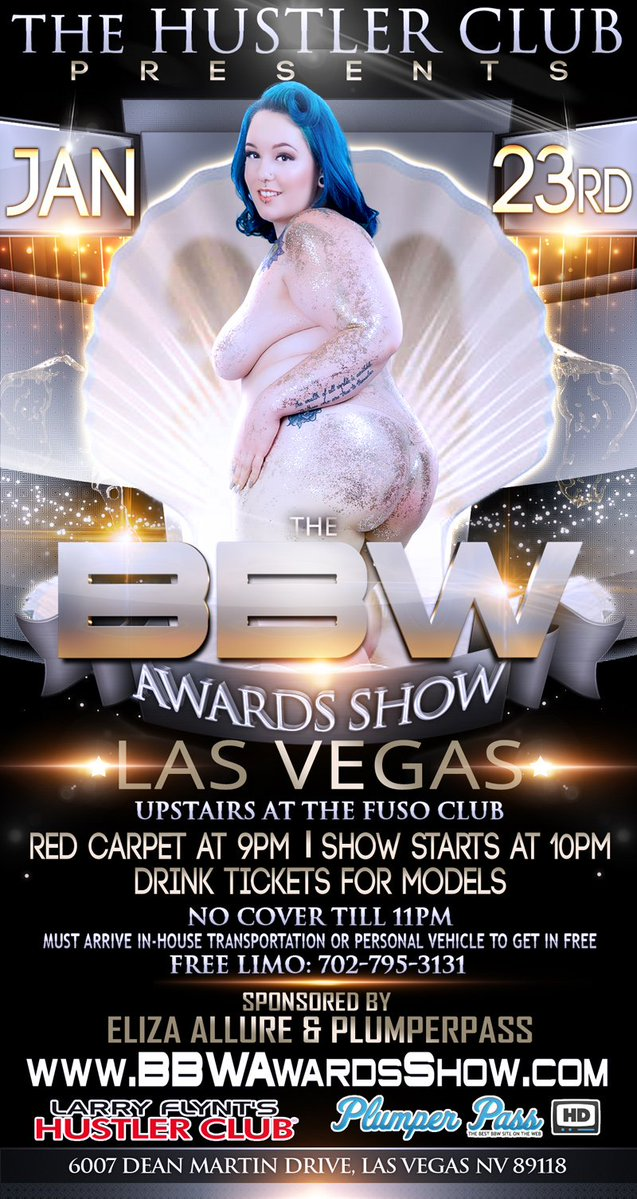 BBW AWARDS SHOW, JAN. 23RD, 2018 STARTS @9pm