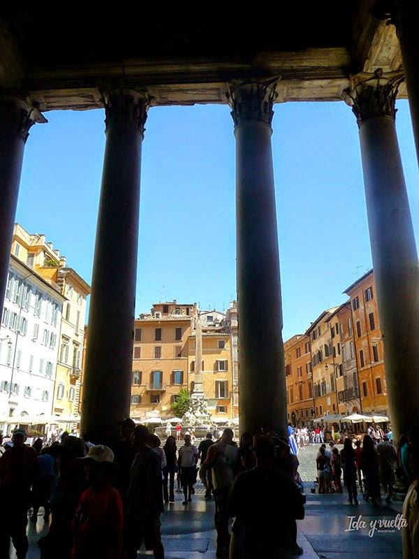 Piazza della Rotonda desde el Panteón