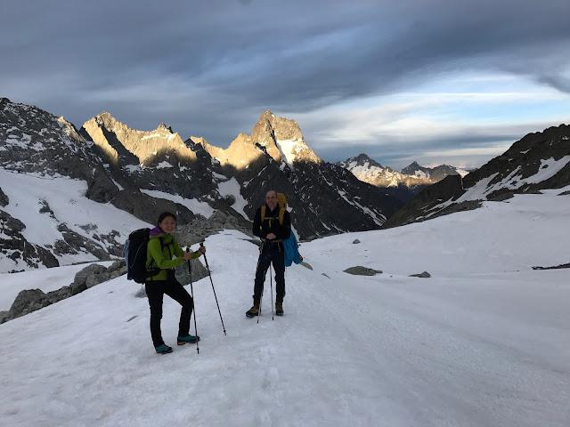 Quentin delavignette guide de haute montagne uiagm t te nord du replat ar - Dormir tete au sud est ...