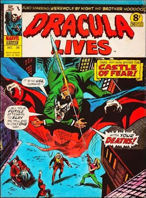 Marvel UK, Dracula Lives #29
