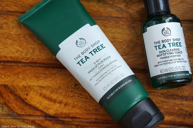 The Body Shop Tea Tree 3 in 1 Wash Scrub Mask Review