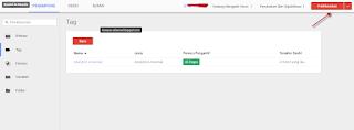 Publikasi Google Tag Manager