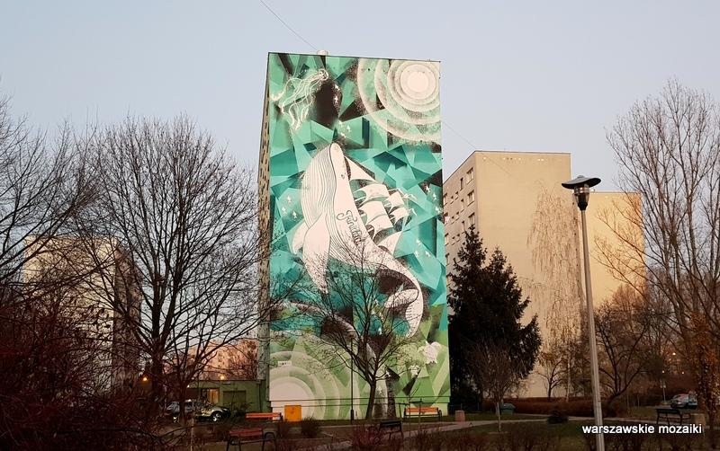 Warszawa Warsaw budżet partycypacyjny murale ursynowskie streetart muralart  warszawskie murale graffiti
