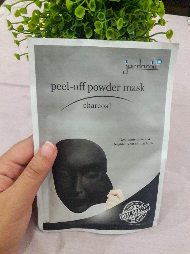 Review : First Impression Jordanie Peel Off Powder Mask Charcoal