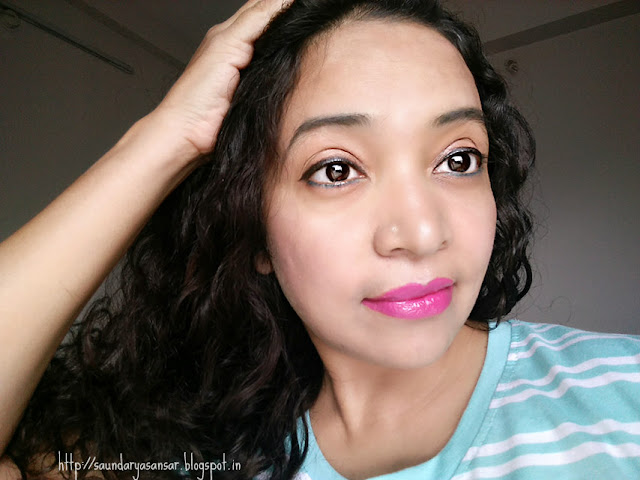 Lakme Satin Enrich lipstick in shade p163 Review