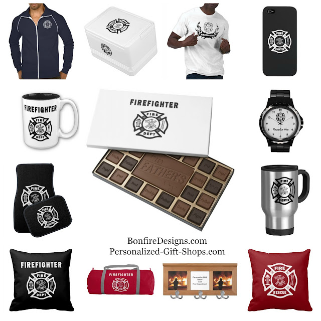 Firefighter Gift Shops Personalized