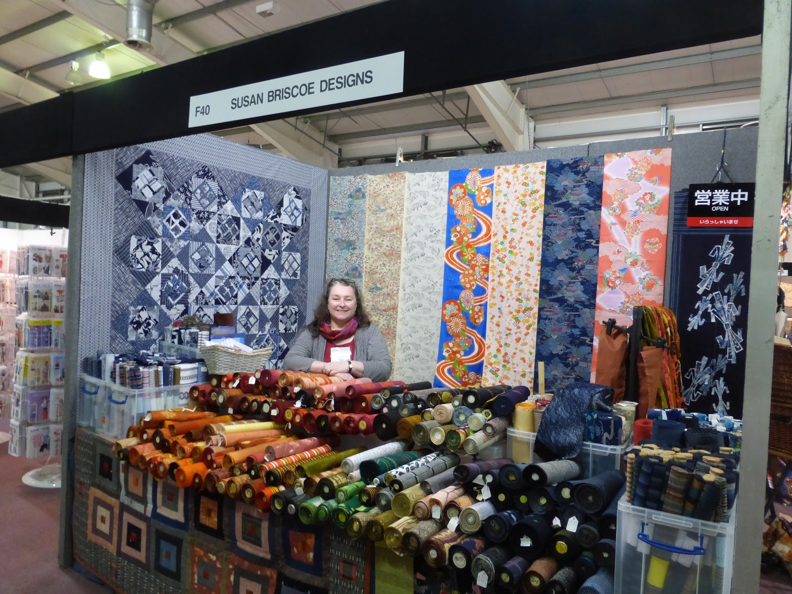 Knitting And Stitching Show 2017 October : sashiko and other stitching: Knitting and Stitching Show at Edinburgh
