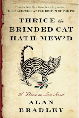 Thrice the Brinded Cat Hath Mew'd by Alan Bradley - book cover