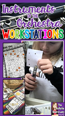 Instruments of the Orchestra Workstations can be the perfect addition to your student of instruments and instrument families.  Learn about a few easy centers to implement into your classroom and woo your students to success.