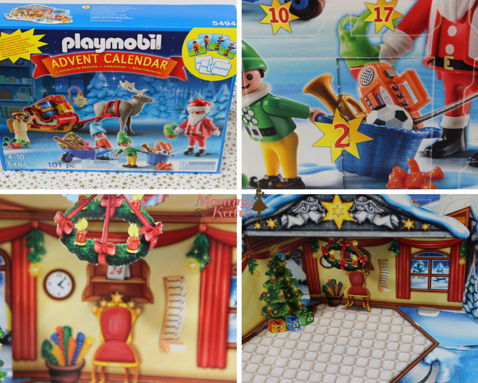 Then When It Comes To Those Holiday Traditions In My Home We Can Add The Playmobil Advent Calender Santas Workshop Our Celebrations