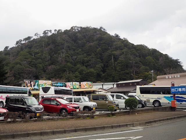 下田街道 浄蓮の滝駐車場