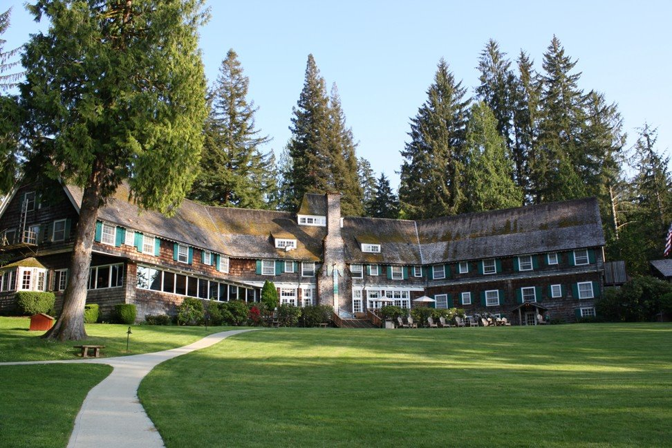 Lodge Boathouse Quinault Rooms Lake