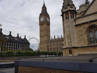 Big Ben e London Eye
