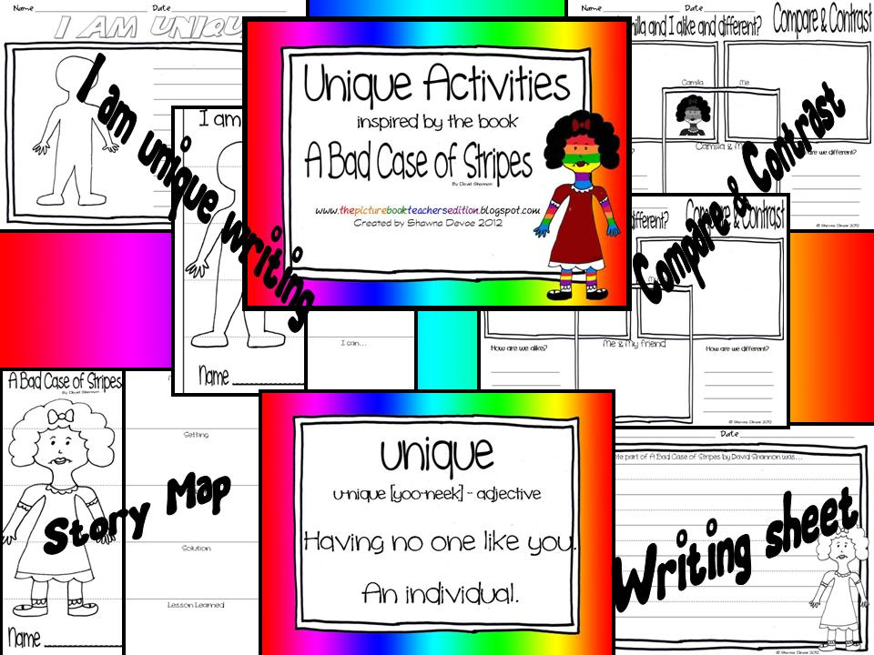 a bad case of the stripes coloring page - the picture book teacher 39 s edition a bad case of stripes