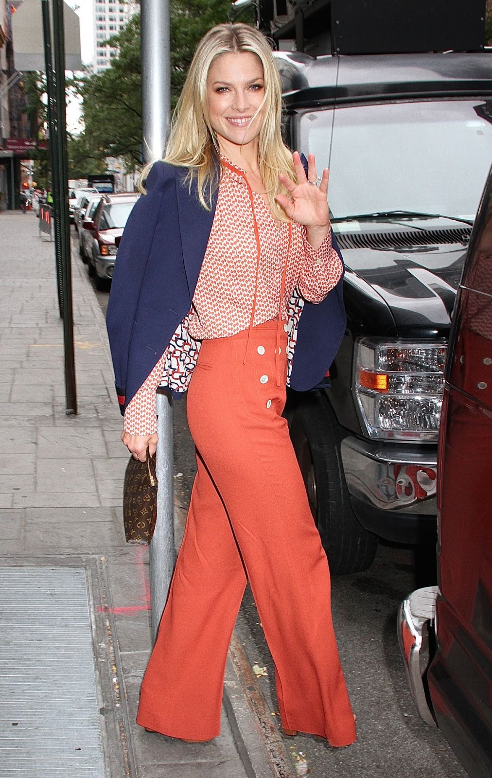 HQ Photos of Ali Larter Leaves Good Day New York In New York