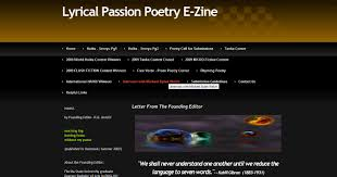 Lyrical Passion Poetry USA