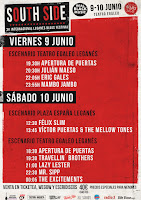 Horarios South Side Jazz Festival 2017