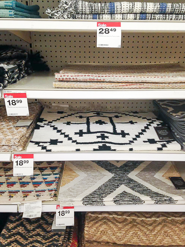 target accent rugs