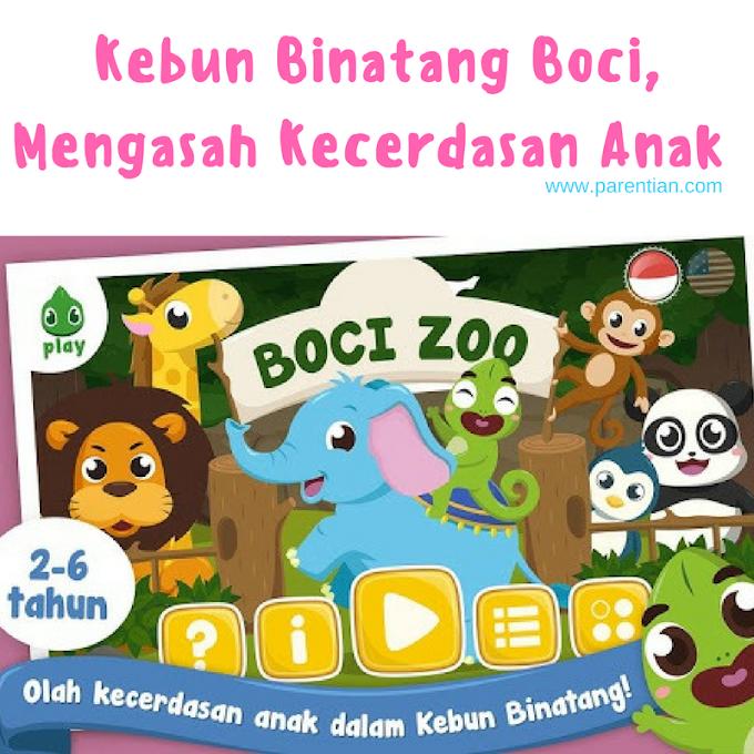 Kebun Binatang Boci, Mengasah Kecerdasan Anak