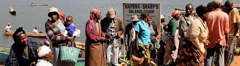 Njuyera Island Camp Lake Bunyonyi southwest corner of Uganda Africa