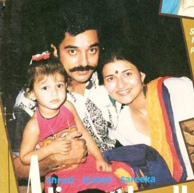 Shruti Haasan's Childhood& family