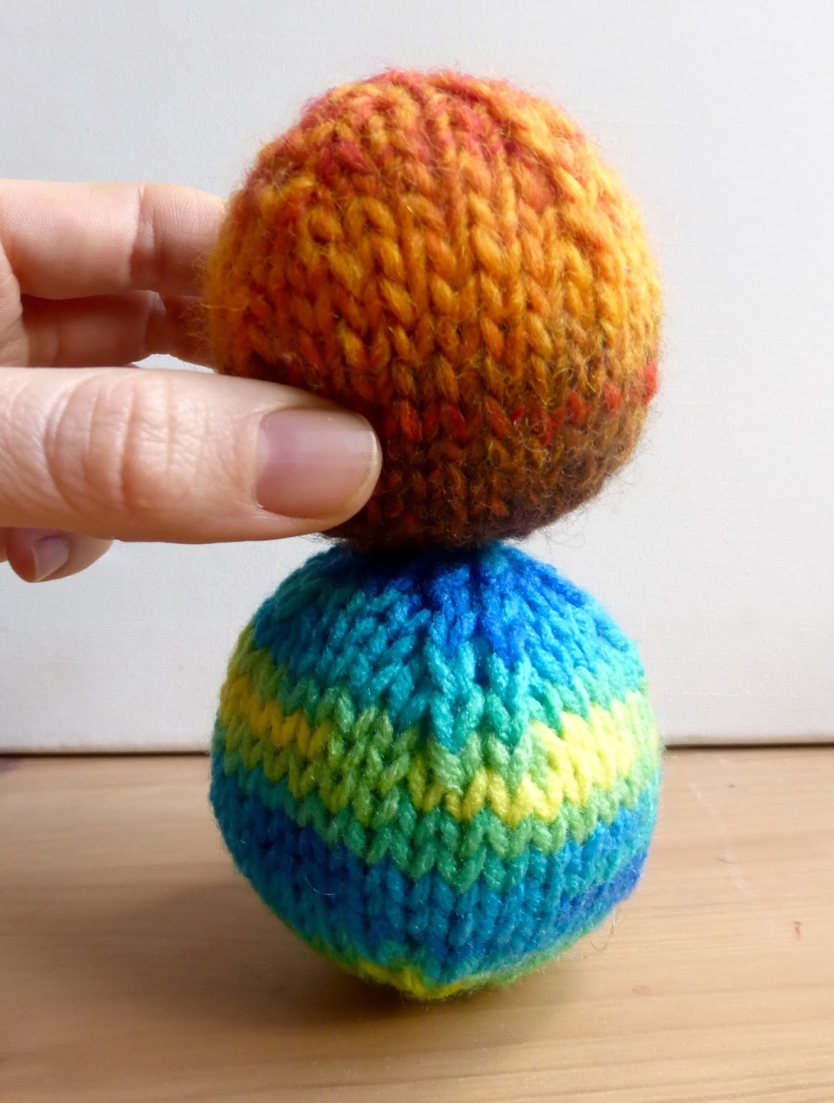 7f896f941 How to Knit a Ball