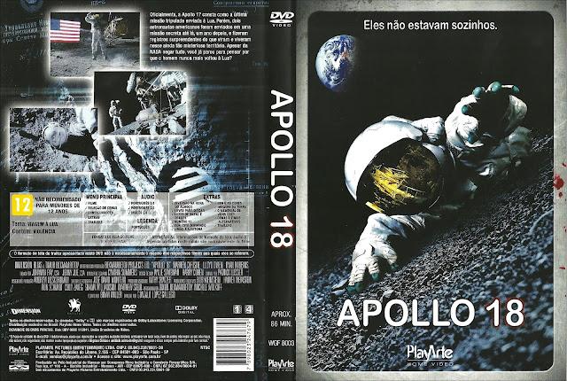 Capa DVD Apollo 18 - A Missão Proibida